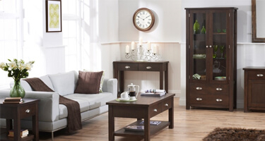 Mark Harris Sandringham Dark Oak Living Room