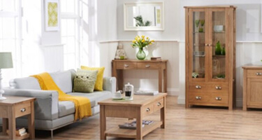 Mark Harris Sandringham Oak Living Room