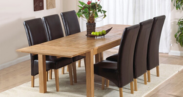 Mark Harris Verona Oak Dining Room