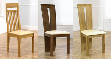 Mark Harris Wooden Dining Chairs