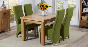 Mark Harris York Oak Dining Room