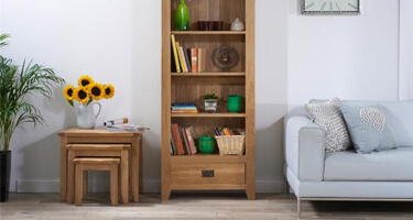 Mark Harris York Oak Living Room