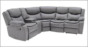 Merryn Grey Recliner Sofa
