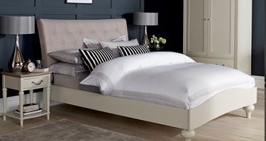 Bentley Designs Montreux Washed Oak and Soft Grey Bedroom
