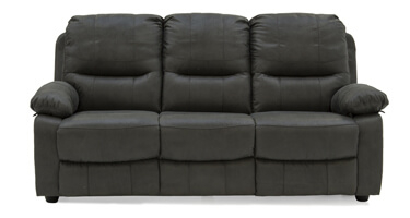 Vida Living Morley Grey Fabric Sofa