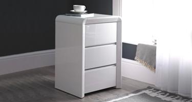 Narrow Bedside Cabinet