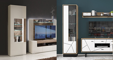 Narrow Display Cabinets
