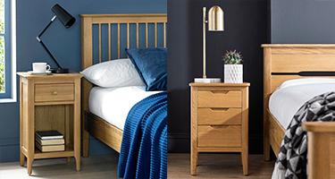 Oak Bedside
