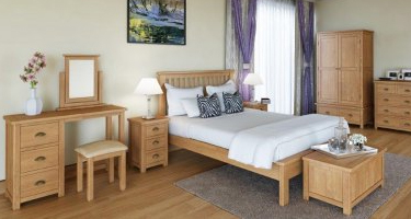 Classic Furniture Portland Oak Bedroom