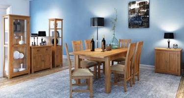 Classic Furniture Portland Oak Dining Room