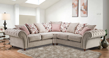 Ritz Chesterfield Fabric Sofas