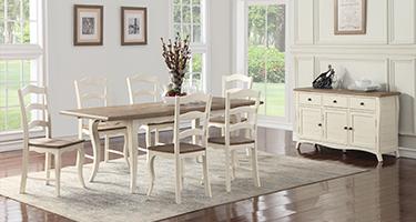 Besp Oak Rustic Boulez Dining Room