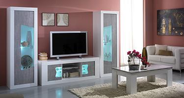 San Martino Las Vegas Grey Living Room