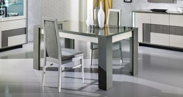 San Martino Scuba Grey Dining Room