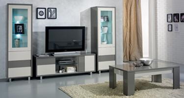 San Martino Scuba Grey Living Room