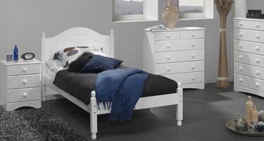 Scandi White Bedroom