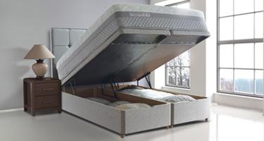 Sealy Posturepedic Ottoman Bed Set
