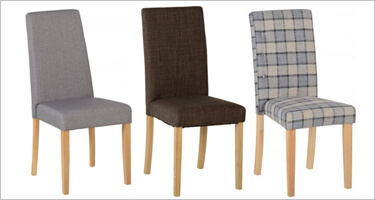 Seconique Fabric Dining Chairs
