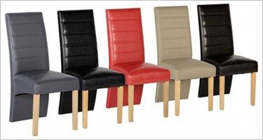 Seconique Leather Dining Chairs