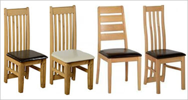 Seconique Wooden Dining Chairs