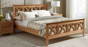 Serene Furnishing Oak Bedroom