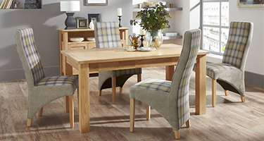 Serene Furnishing Oak Dining