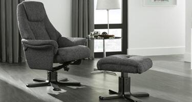 Serene Furnishings Fabric Recliner Chairs