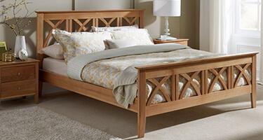 Serene Wooden Beds