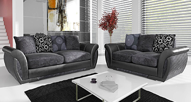 Sharon Fabric and Leather Sofas