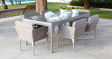 Skyline Design Brafta Silver Walnut Outdoor Furniture