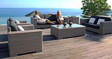 Skyline Design Brando Silver Walnut Outdoor Furniture