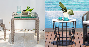 Skyline Design Outdoor Side Tables
