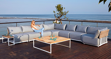 Skyline Design Windsor White Matt Outdoor Furniture