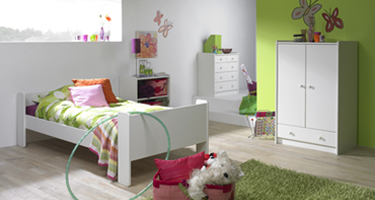 Steens Kids White Bedroom