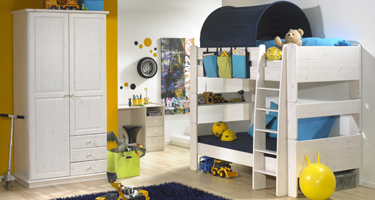 Steens Kids Whitewash Bedroom