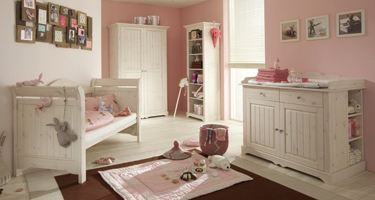 Steens Lotta Whitewash Bedroom
