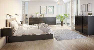 Steens Maga Black Bedroom