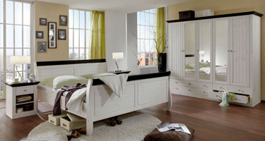 Steens Monaco White Bedroom