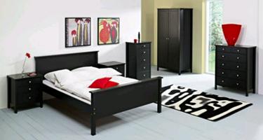 Steens New Stockholm Dark Coffee Bedroom