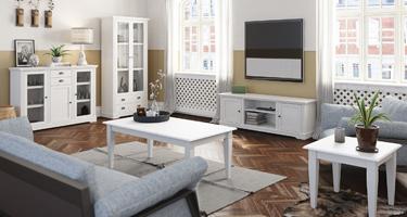 Steens Venice White Living Room