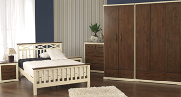Sweet Dreams Amore Wooden Bedroom