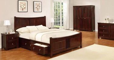Sweet Dreams Curlew Cognac Finish Bedroom