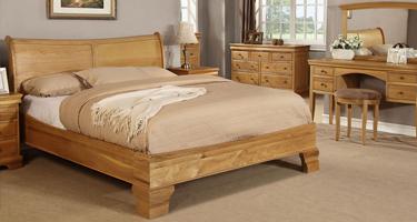 Sweet Dreams Grayson Solid Oak Bedroom