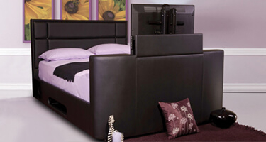 Sweet Dreams Leather TV Beds
