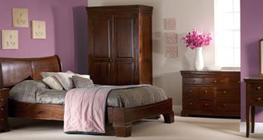 Sweet Dreams Lincoln Solid Acacia Bedroom