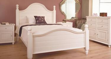 Sweet Dreams Rook White Wooden Bedroom