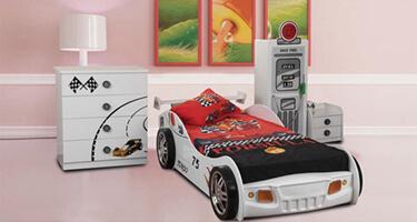 Sweet Dreams Sonic White Kids Bedroom