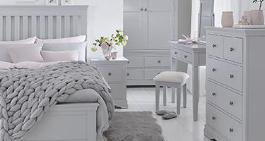 Swindon Grey Painted Bedroom