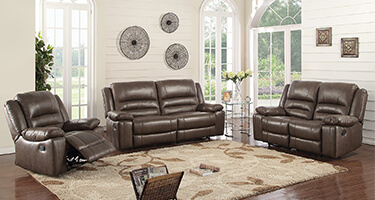 TCS Leather Sofas