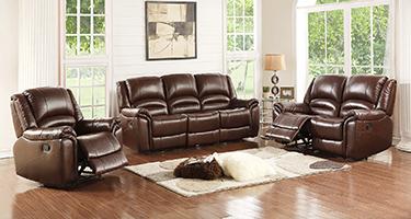TCS Blake Leather Recliner Sofas